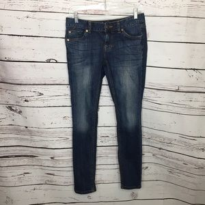 Mossimo Womens 4 Short skinny jeans